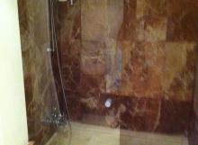 verre douche
